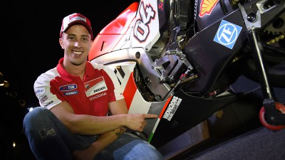 Dovizioso renews with Ducati for two more years