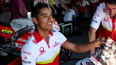 Y.エルナンデェス、GP13からGP15への乗り換えを熱望