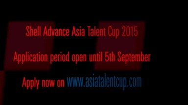 2015 Shell Advance Asia Talent Cup registration period opens