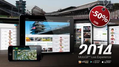 50% di sconto sulla MotoGP™ Live Experience App