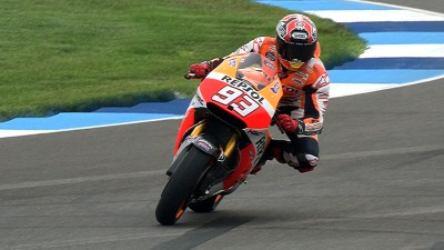 Marquez shines on first day around new IMS layout