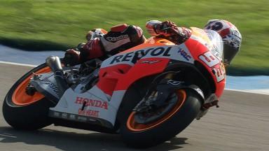 Márquez s'assure la pole pour la dixième manche à Indianapolis