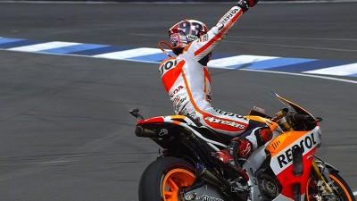Márquez hace historia en Indy con su décimo triunfo consecutivo