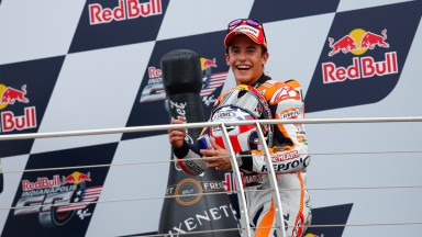 Marquez reviews race after making it ten out of ten