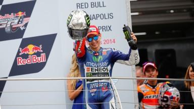 モビスター・ヤマハのロレンソ&ロッシがムジェロに続く今季2度目のダブル表彰台
