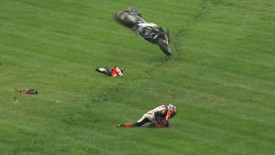 Las caídas en Indy dejan sin puntos a varios pilotos del 'top 10'