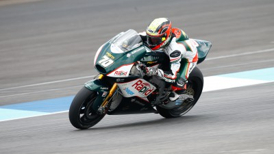 First points of 2014 for Laverty