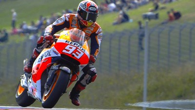 Marquez leads the way at Brno on day one