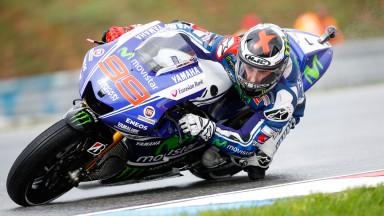 Lorenzo et Rossi, deuxième et cinquième du vendredi à Brno
