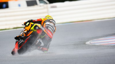 Espargaro fourth with De Angelis returning to MotoGP™ in tricky conditions