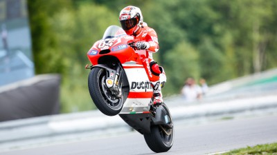 Ducati Team working hard in Czech Republic