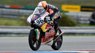 Red Bull MotoGP Rookies Cup: Pagliani's perfect pole in Brno