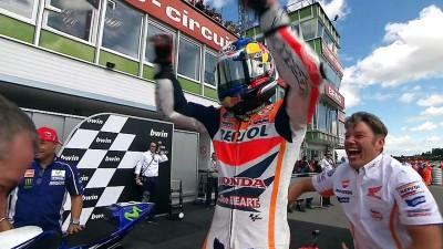 Pedrosa s'impose à Brno et met fin à l'hégémonie de Márquez