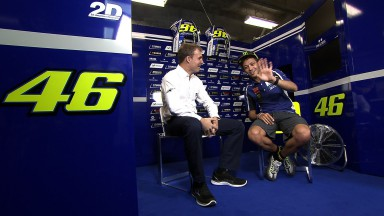 """Rossi: """"Du musst immer an die Zukunft denken"""""""
