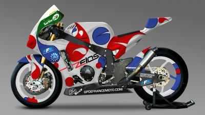Rossi et Masbou présentent leur projet de team Moto2™