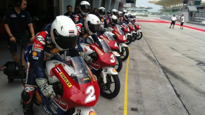 Riders put in the laps at Sepang test