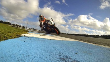 Doohan and Beattie thrill passengers at Phillip Island
