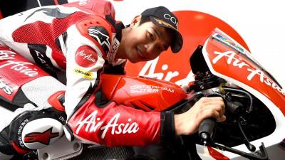 Wilairot sustituye a Herrin en el AirAsia Caterham Moto Racing