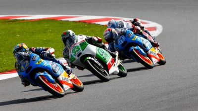 Marquez and Rins closing in on Miller