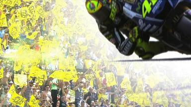 Leidenschaftliche Fans erwarten die MotoGP™ in Misano