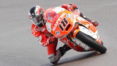 Nico Terol torna in pista a Misano