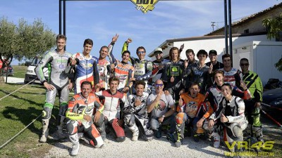 Rossi hosts Marquez and World Championship stars for MotorRanch day