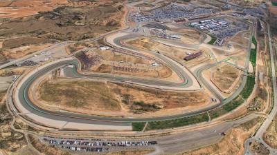 Movistar patrocinará el GP de Aragón durante los próximos años