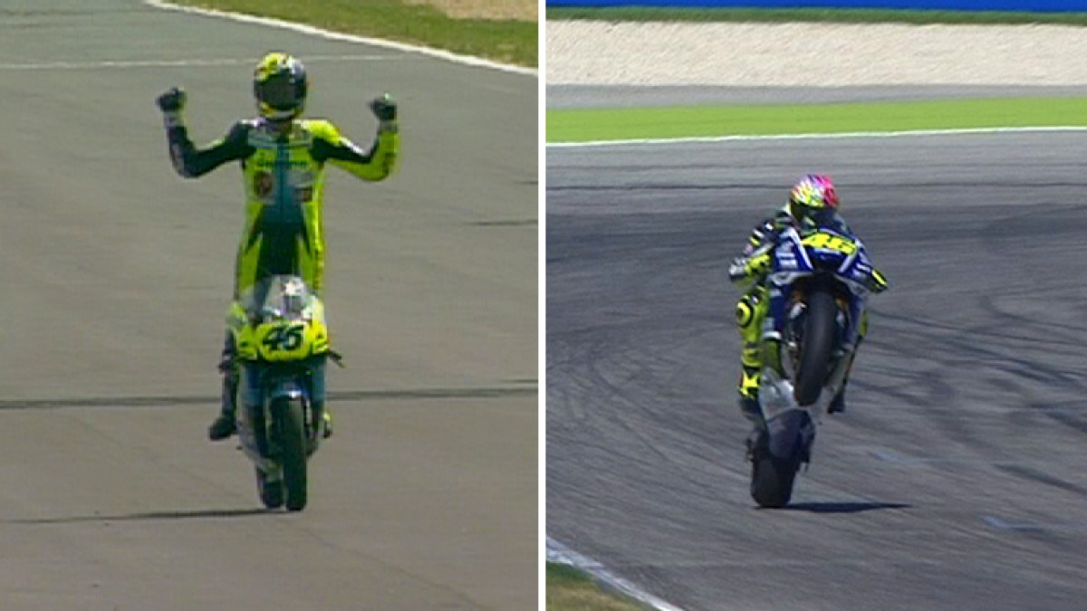 Longest winning career in Grand Prix racing for Rossi | MotoGP™