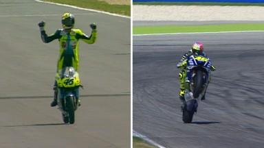 Längste siegreiche Karriere im Grand Prix Sport für Rossi