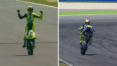 Longest winning career in Grand Prix racing for Rossi