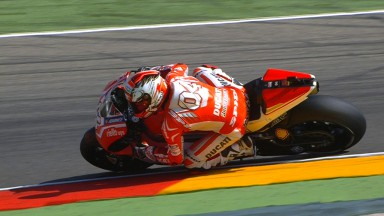 Dovizioso leads the way on new bike at Aragon
