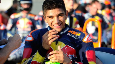 Martin snatches last lap Rookies pole in Aragon