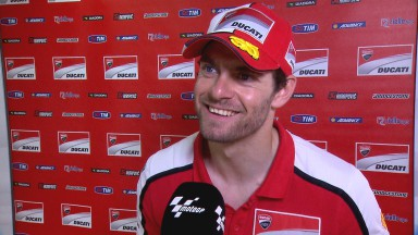Crutchlow qualifies well whilst crash hinders Dovizioso
