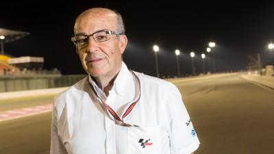 Ezpeleta: 'Rossi es un ejemplo de lo que para nosotros debe ser un piloto'
