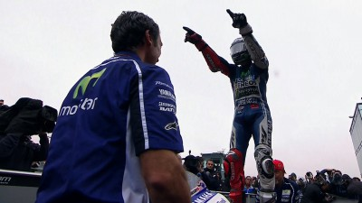 Lorenzo wins chaotic 800th premier class Grand Prix