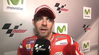 First rostrum result for Crutchlow with Ducati
