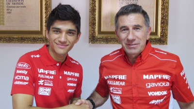Aspar recruit Rookies Cup champion Martin