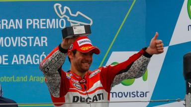 クラッチローが今季初表彰台/ドビツィオーソは表彰台目前に転倒