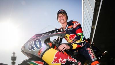 Darryn Binder debutará en Moto3™ junto a Tonnuci con el Ambrogio Racing