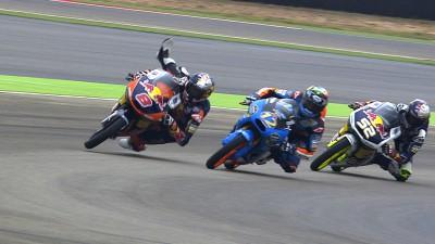 Miller y Márquez hablan de su colisión en MotorLand