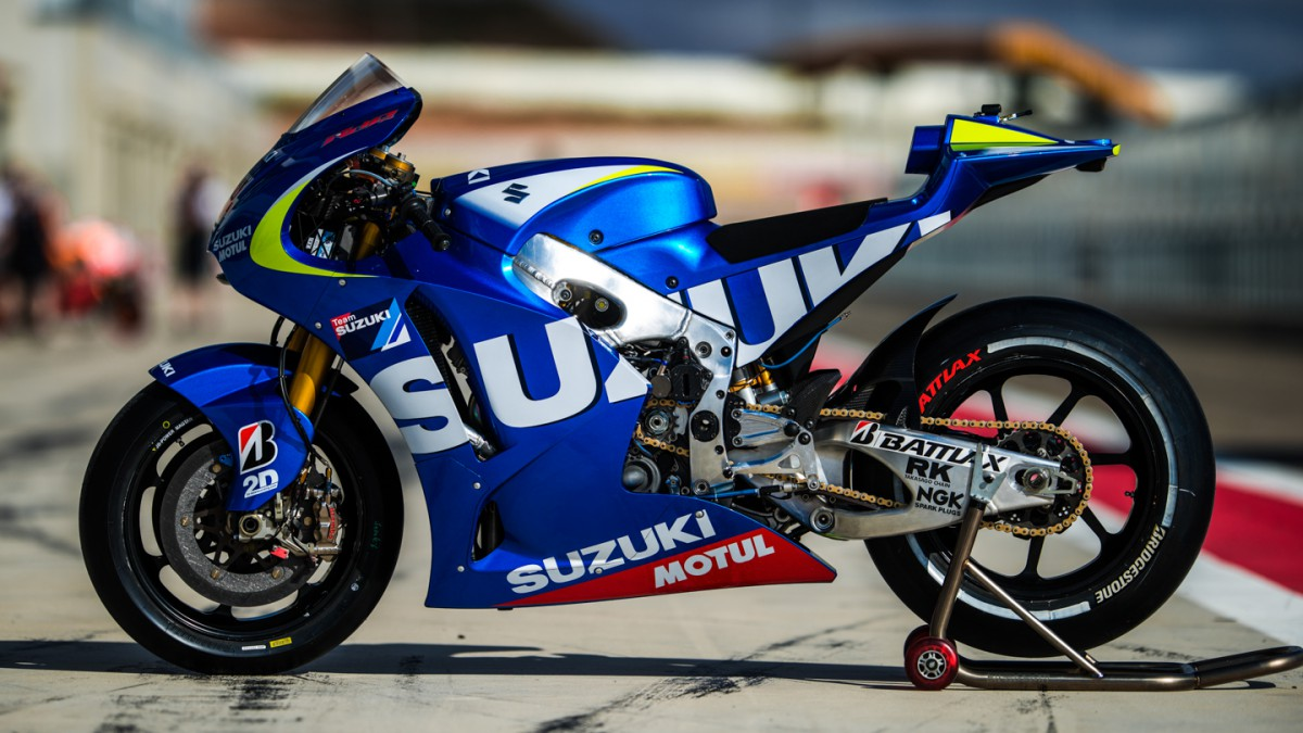 suzuki revient en motogp l an prochain avec aleix espargar et maverick vi ales. Black Bedroom Furniture Sets. Home Design Ideas