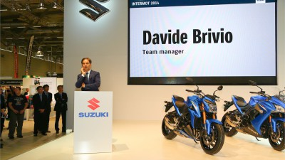 Brivio says electronics and engine performance are focal points for Suzuki