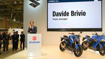D.ブリビオ:「GSX-RRは完璧に新しいマシンです」