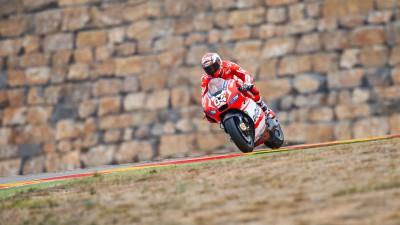 Dovizioso, convencido de que Ducati será competitivo en Japón