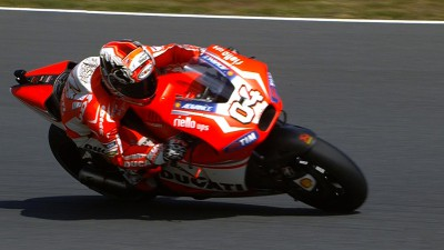 Dovizioso clear at the top on first day