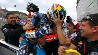 Marquez takes victory in tense Motegi contest
