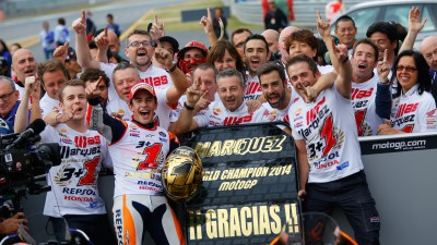 Key statistics on Marquez's 2014 MotoGP™ World Championship win