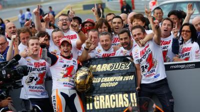 Los datos clave del título de Márquez