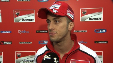 Dovizioso finishes in fifth, while Crutchlow crashes out on lap two