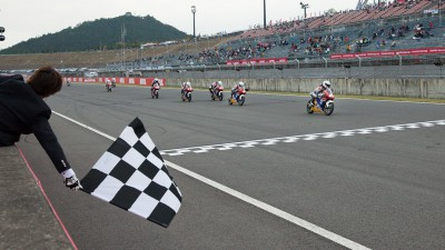 Sasaki gewinnt Shell Advance Asia Talent Cup in Motegi